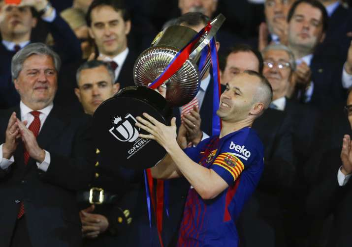 India Tv - This may Iniesta's last final match with the Catalan giants