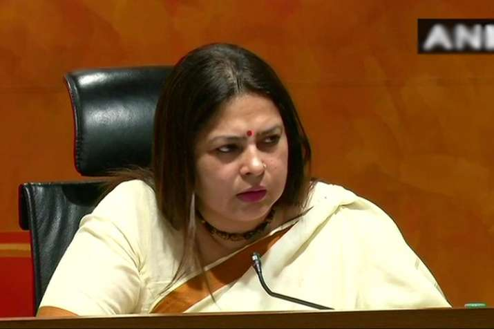 BJP national spokesperson Meenakshi Lekhi