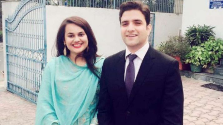 India Tv - Even though the couple came under criticism in view of their different religious backgrounds, they seemed undeterred by the distractions.