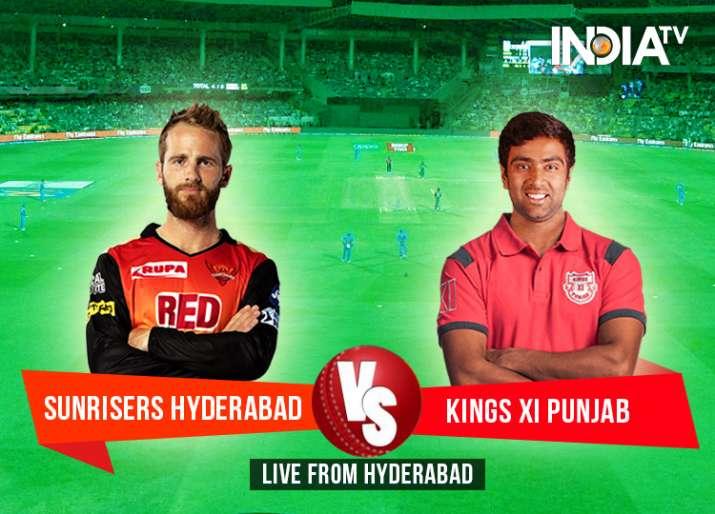 Stream Live SRH vs KXIP: Watch Vivo IPL 2018 Cricket Match