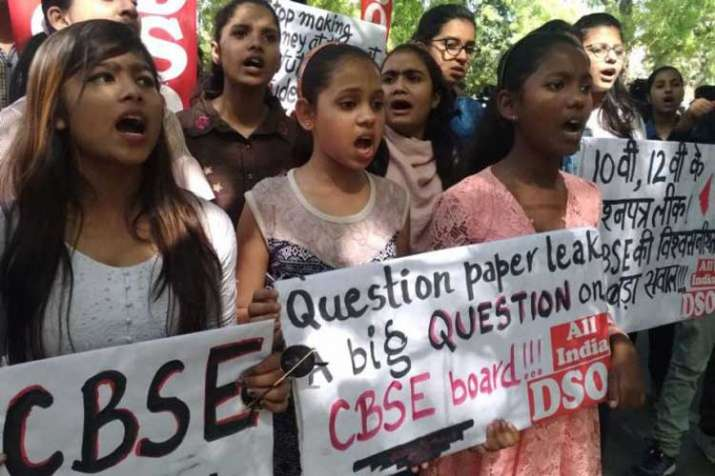 The paper leak had affected lakhs of CBSE class 10
