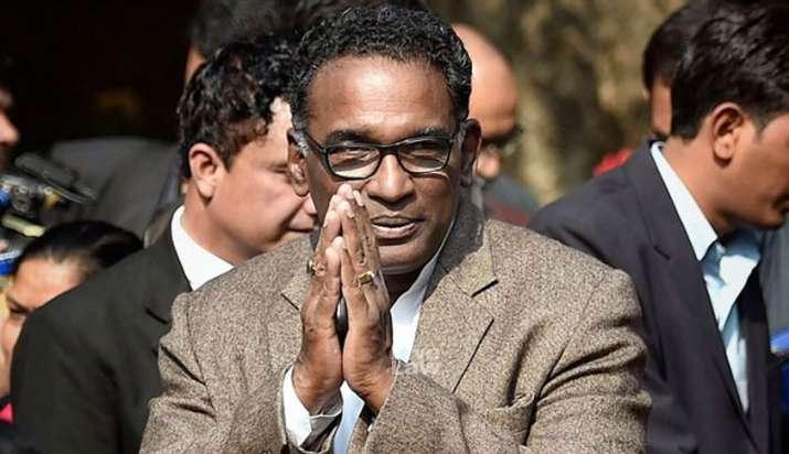 Supreme Court's senior most judge Justice Chelameswar