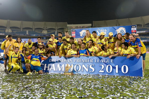 India Tv - Chennai Super Kings won the trophy in 2010.