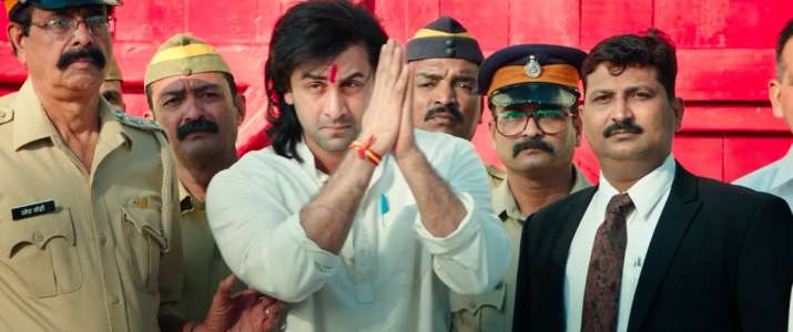 India Tv - Ranbir Kapoor's look in Sanju
