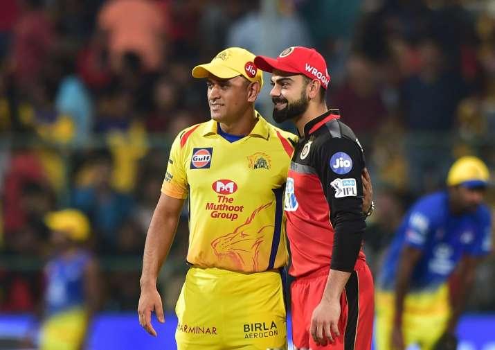 IPL 2018: MS Dhoni and Virat Kohli's friendship on field ...  IPL 2018: MS Dh...
