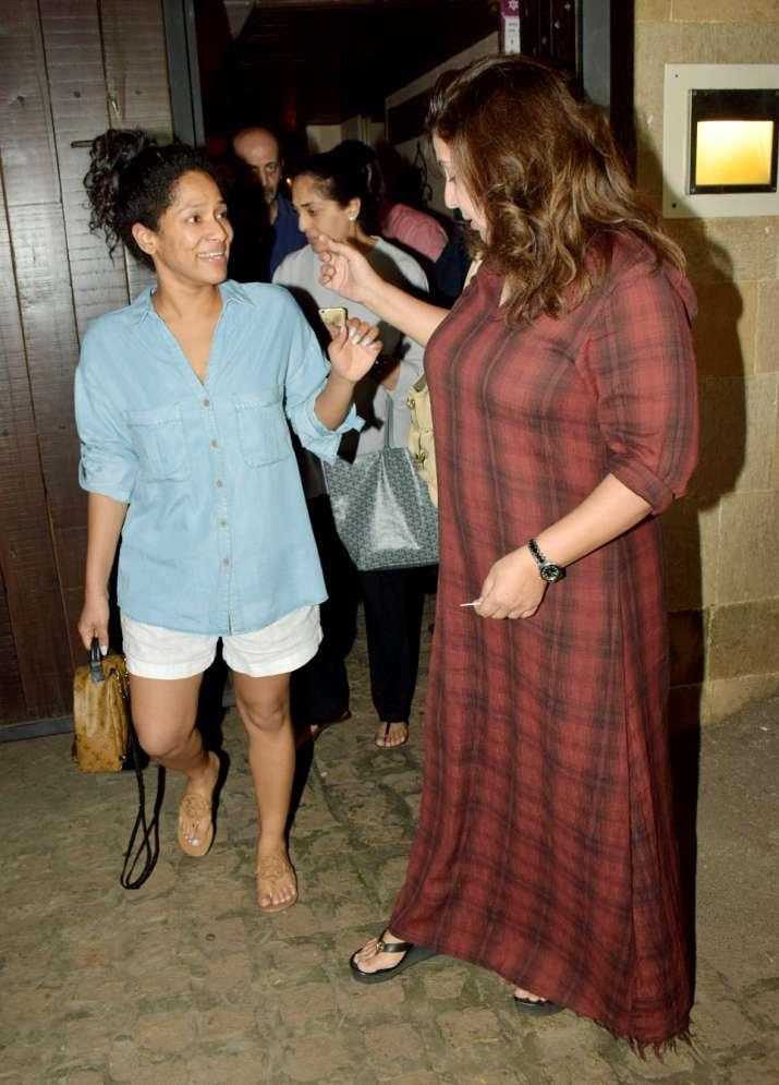 India Tv - Farah Khan and Masaba Gupta