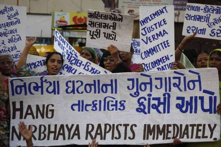 India Tv - Last time the country witnessed such burst of anger against sexual offences was whena 23-year-old medical student was brutally raped in a moving bus in Delhi. The public angst had forced the government to set up panel for amendmentsin anti-rape laws.
