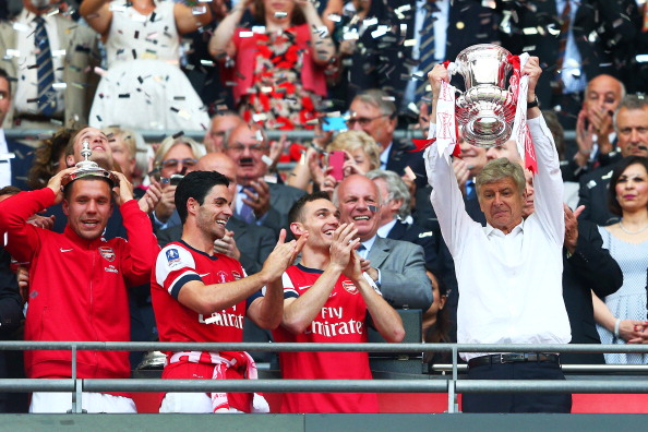 India Tv - Wenger ended Arsenal's drought season in 2014 with the FA Cup