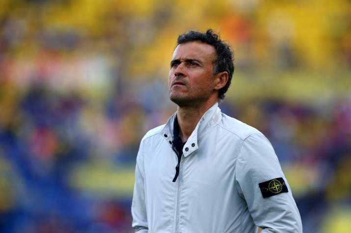 India Tv - Luis Enrique won the treble with FC Barcelona in the 2015-2016 season.