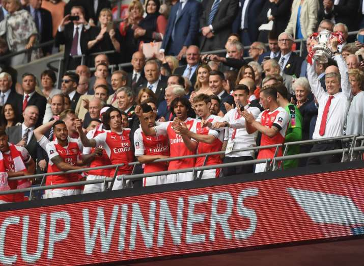 India Tv - Arsenal won the FA Cup 7 times under Wenger, more than any other Premier League manager