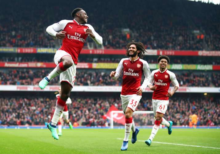 India Tv - Welbeck scored the winner for Arsenal in the 81st minute.