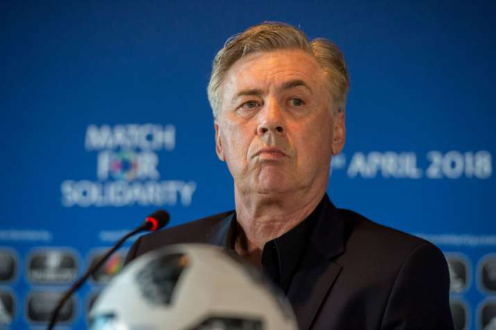 India Tv - Carlo Ancelotti has managed Real Madrid, AC Milan, Chelsea and recently managed Bayern Munich