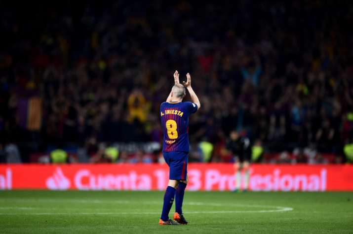 Andres Iniesta will play his last season with FC Barcelona
