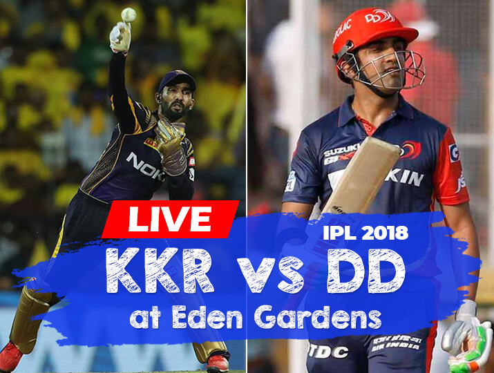 Cricket Live Streaming Kkr Vs Dd Where To Watch Ipl 2018