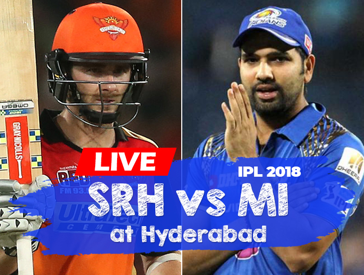 Live Cricket Streaming, Vivo IPL 2018: Watch Indian Premier League,  Sunrisers Hyderabad vs Mumbai Indians Cricket on Hotstar, Star Sports from  Rajiv Gandhi ...