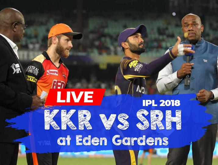 Live Cricket Streaming Kolkata Knight Riders Vs Sunrisers