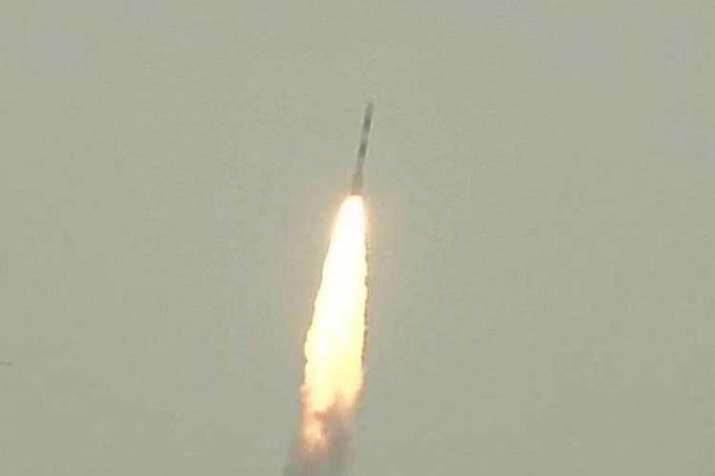 Indian PSLV rocket blasts off with navigation satellite