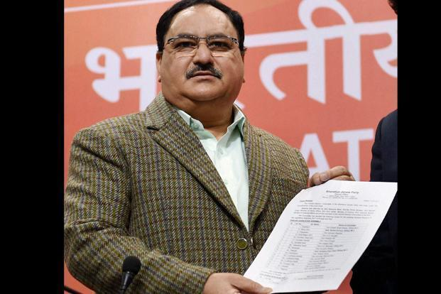 JP Nadda announced the first list of BJP candidates