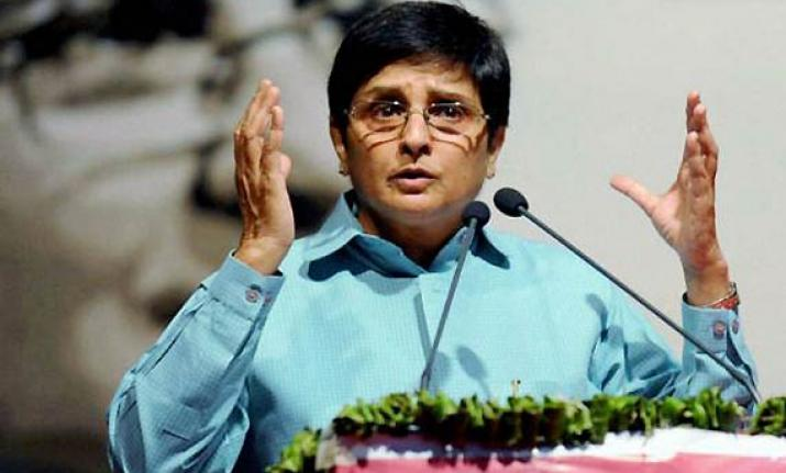 After criticism, Kiran Bedi withholds controversial 'no