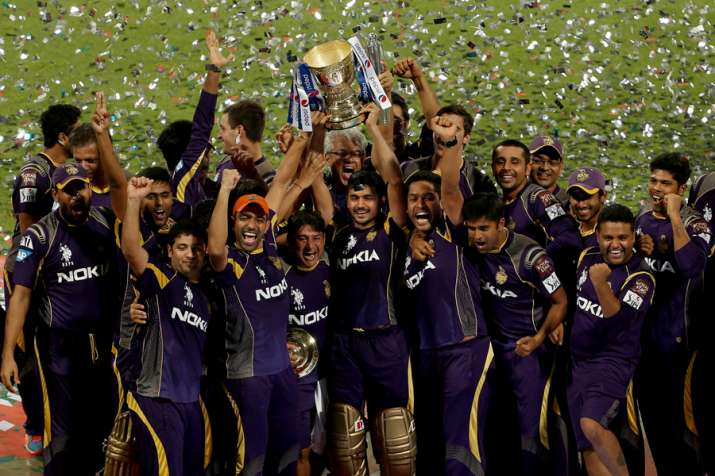 India Tv - Kolkata Knight Riders won the trophy for the second time in 2014