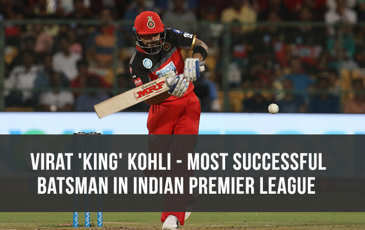 India Tv - Virat Kohli becomes the most successful batsman in the history of Indian Premier League