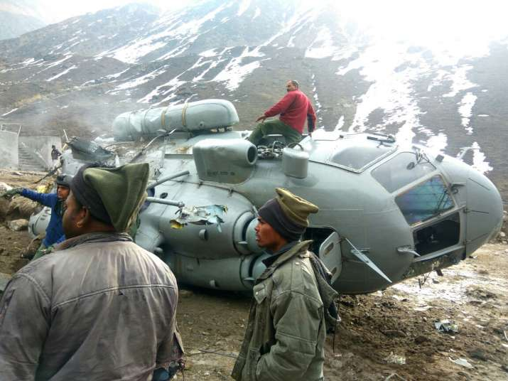 India Tv - Mi-17 helicopter catches fire