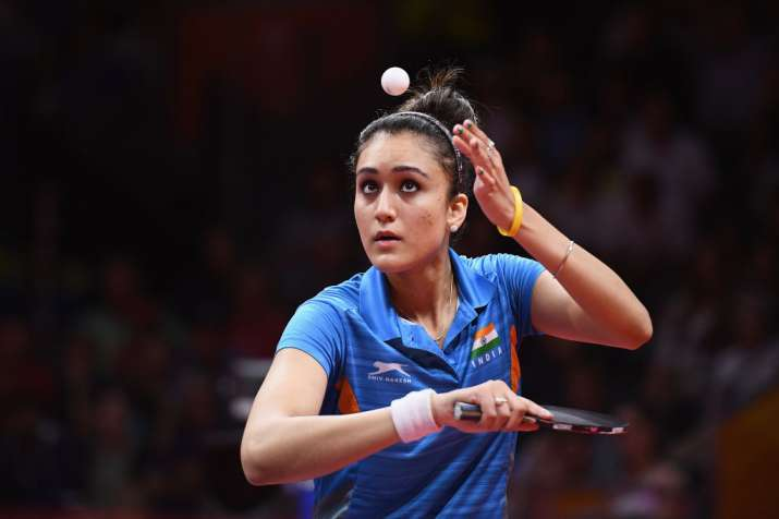 Commonwealth Games 2018 Manika Batra Clinches Historic Gold In Women S Singles Table Tennis Other News India Tv