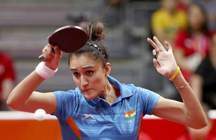 Commonwealth Games 2018 India Stun Singapore To Win Historic Gold In Women S Team Table Tennis Other News India Tv