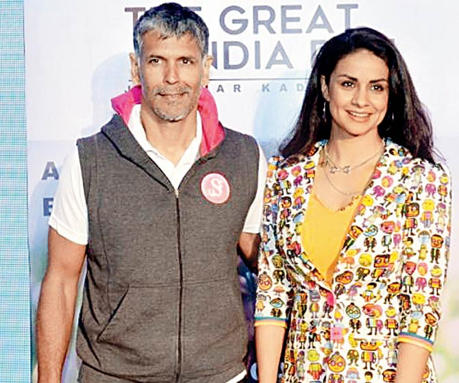 India Tv - Milind Soman and Gul Panag