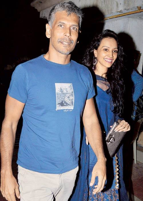 India Tv - Milind Soman and Dipannita Sharma