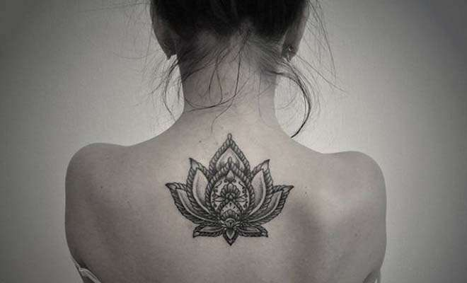 India Tv - Lotus tattoo