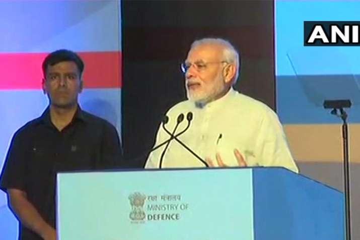 PM Modi addresses Defence Expo 2018