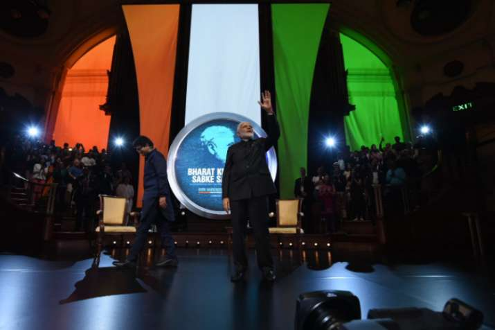 Prime Minister Narendra Modiat the 'Bharat