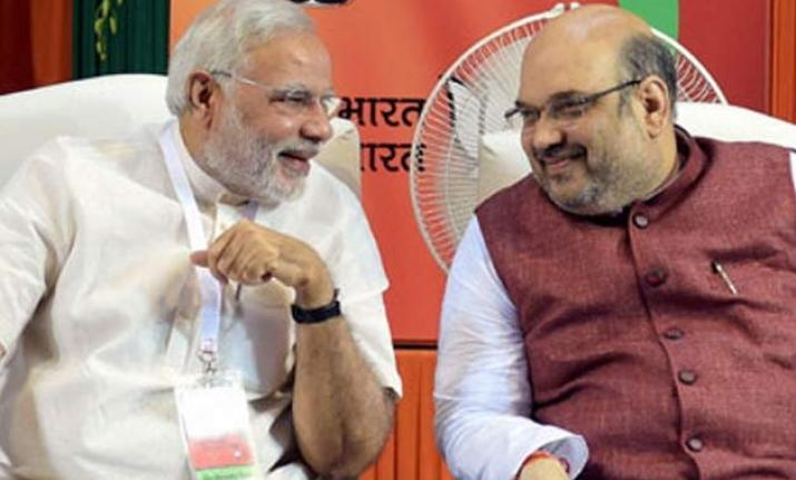 File photo of PM Narendra Modi and Amit Shah.