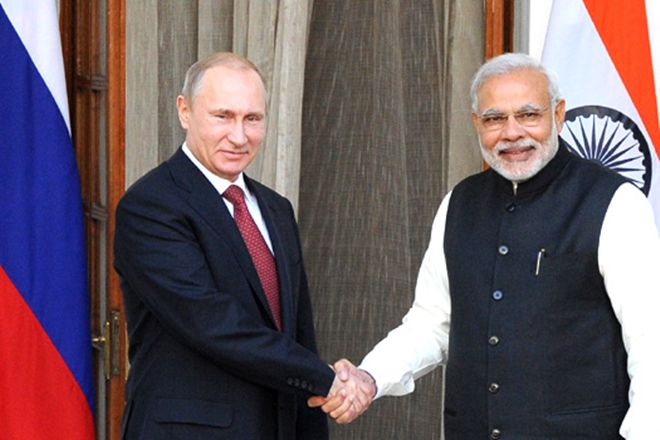 Image result for russia putin and modi