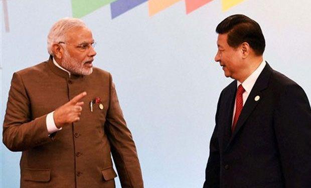 PM Modi with Xi Jinping - File pic