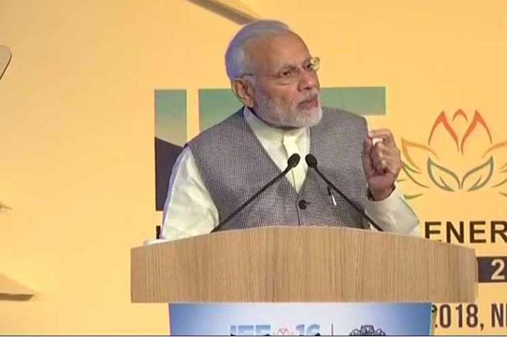 PM Modi at the16thInternational Energy Forum