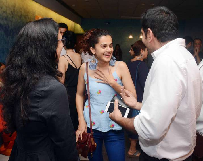India Tv - Beyond The Clouds screening
