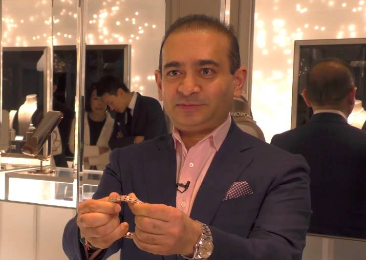Fugitive billionaire diamantaire Nirav Modi