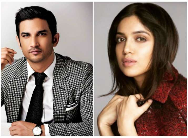 It's a wrap for Bhumi Pednekar and Sushant Singh Rajput