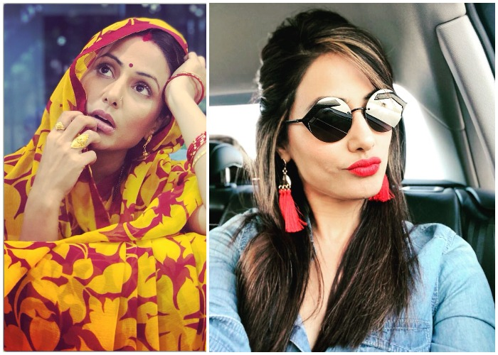Hina Khan Drops Her Glamorous Image For Short Film Smart Phone