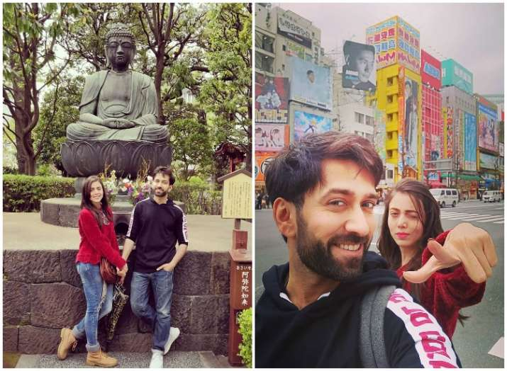 Nakuul Mehta Japan vacation with wife