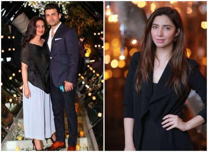 Fawad Khan hosts birthday bash for wife Sadaf: Mahira Khan,