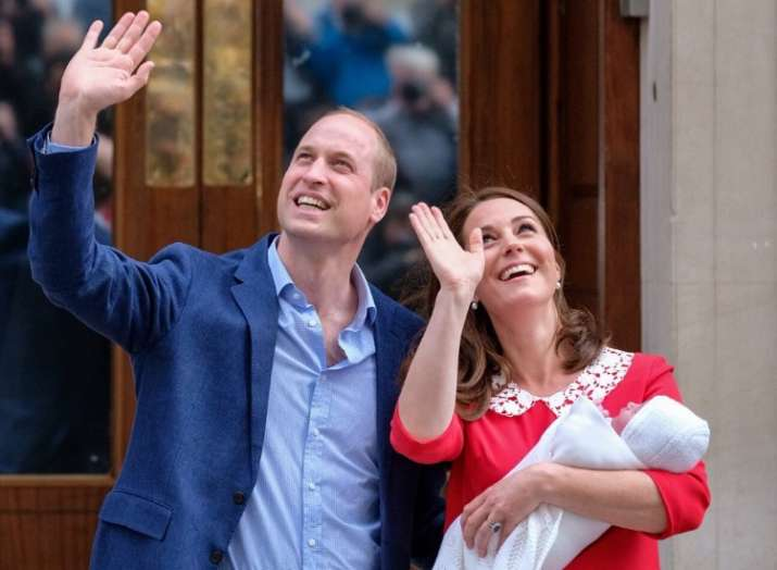 Kate Middle and Prince William reveals their third child name