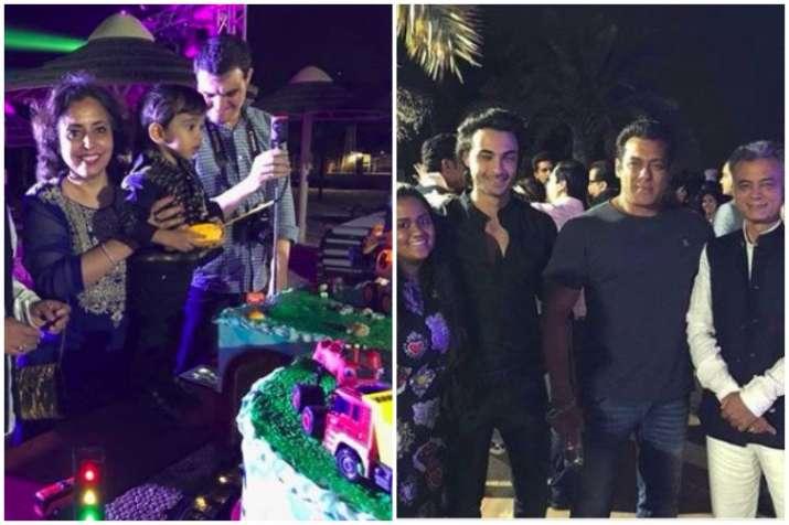Salman Khan's nephew Ahil's birthday party