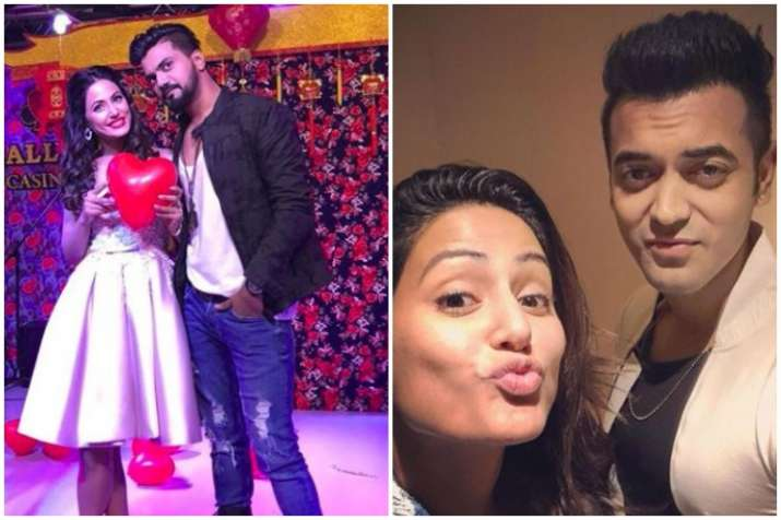 Hina Khan Gives Answer To A Fan Who Asked Her To Dump Rocky Jaiswal