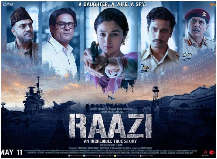 Raazi new poster: Alia Bhatt and Vicky Kaushal all set for