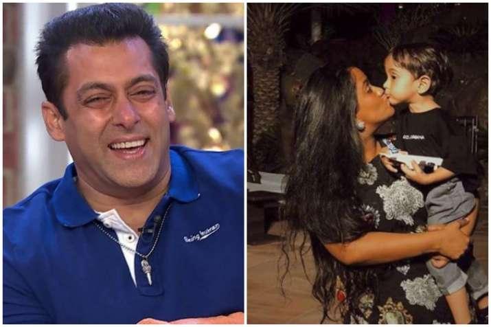 Salman Khan, Arpita Khan Sharma