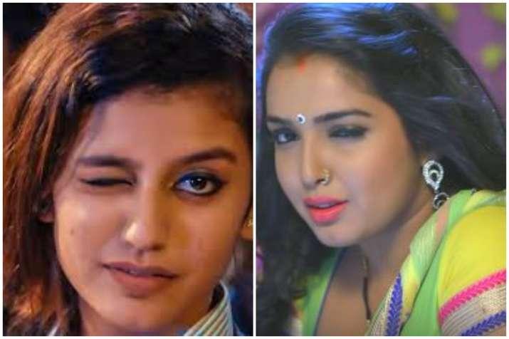 Priya Prakash Varrier,Amrapali Dubey