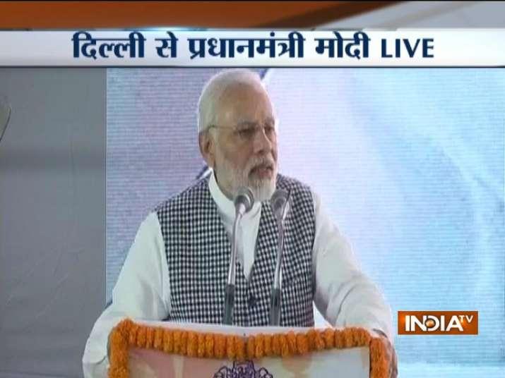 PM Modi at Ambedkar National Memorial LIVE